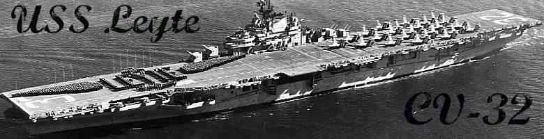 USS Leyte Banner