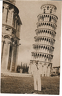 Huyler Perry and Leaning Tower of Pisa - 1950